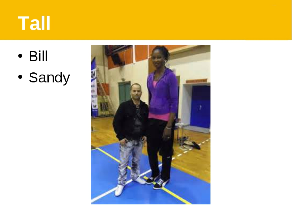 Tall Bill Sandy