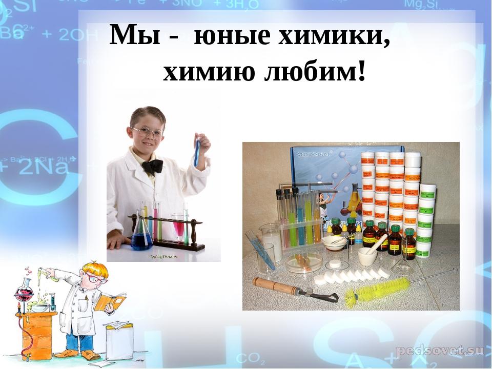 Мы - юные химики, химию любим!