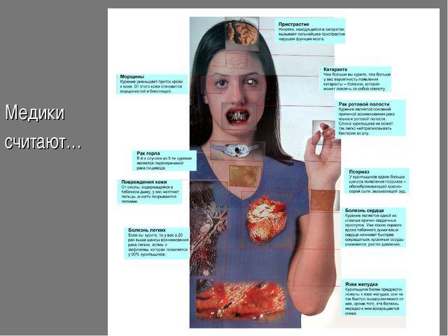Влияние табака: Медики считают…