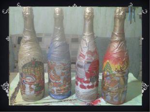 Далее подкрашиваем фон акриловыми или аэрозольными красками, украшаем. Декори