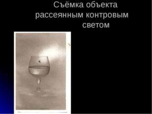 Съёмка объекта рассеянным контровым светом С.Лященко «Мир вещей» Приложение