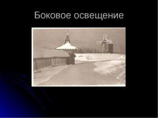 Боковое освещение Е.Раскопов «Зима в Малых Карелах» Приложение №7