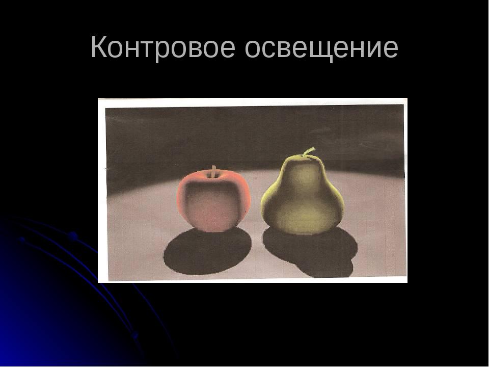 Контровое освещение С.Лященко «Дуэт» Приложение №13