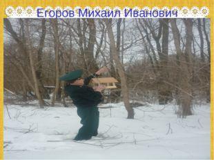 Егоров Михаил Иванович