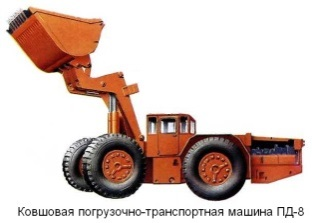 Погрузочно-транспортные машины