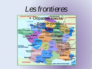 Les frontieres