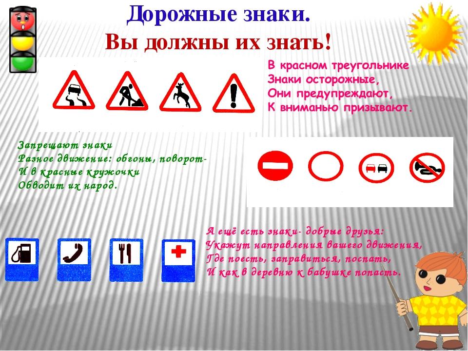 Дорожные знаки. Вы должны их знать! Запрещают знаки Разное движение: обгоны,...