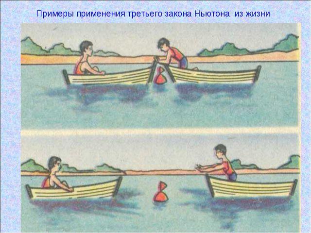 Проблемная ситуация Примеры применения третьего закона Ньютона из жизни