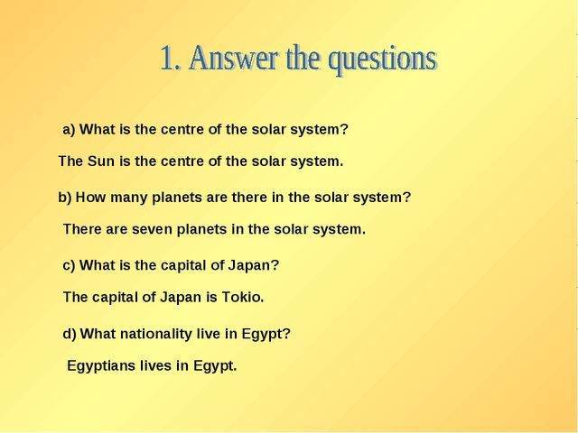 a) What is the centre of the solar system? The Sun is the centre of the solar...