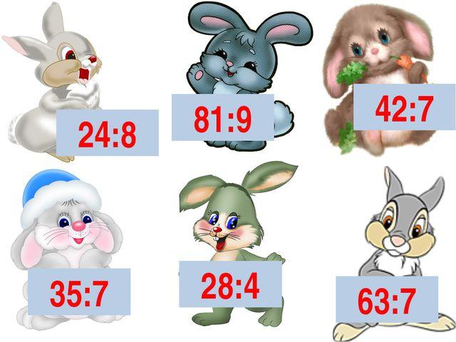 24:8 81:9 42:7 35:7 28:4 63:7