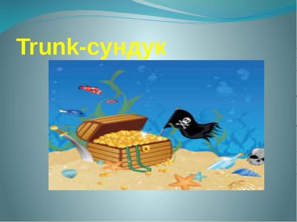 Trunk-сундук