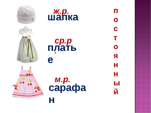 шапка платье сарафан ж.р. ср.р. м.р. п о с т о я н н ы й