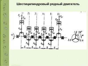 Шестицилиндровый рядный двигатель