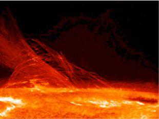 Изображение поверхности и короны Солнца, полученное Солнечным Оптическом Теле