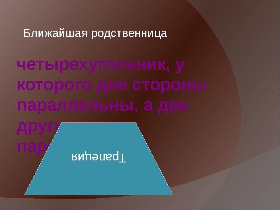 Дайте название каждому из четырёхугольников 1 2 3 5 6