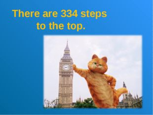 There are 334 steps to the top.