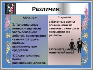 Мюзикл 3. Танцевальные номера – значимая часть основного действа, хореография