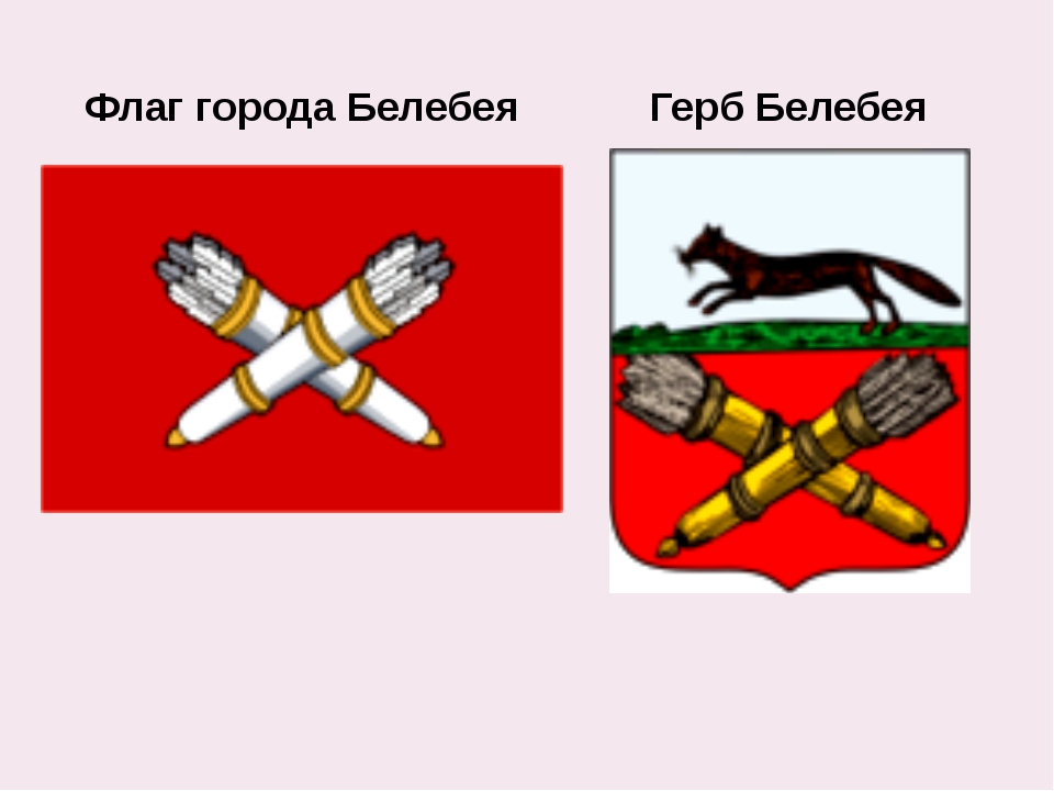Флаг города Белебея Герб Белебея