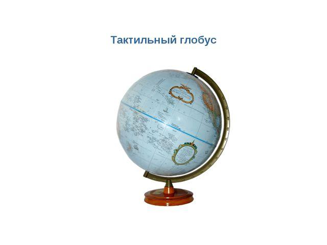 Тактильный глобус