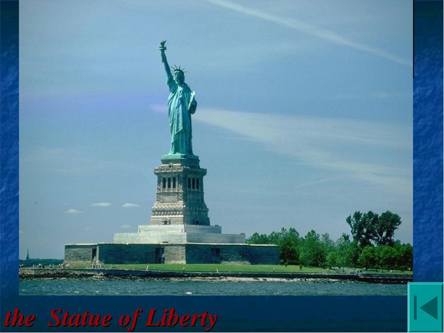 It was built in New York harbor in 1886. It was a present from the people of...