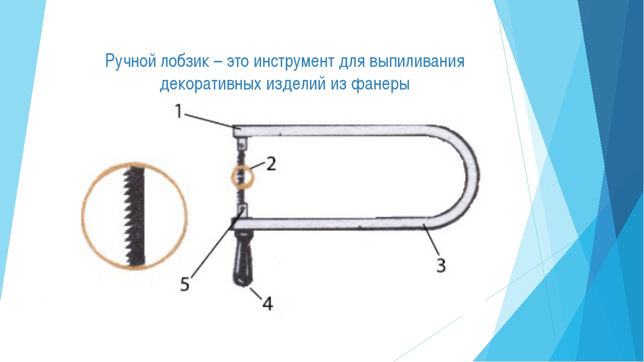 Ручной лобзик – это инструмент для выпиливания декоративных изделий из фанеры