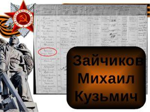 Зайчиков Михаил Кузьмич