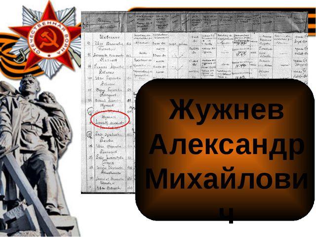 Жужнев Александр Михайлович