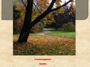 Стихотворения Загадки Народные приметы Игры Осень