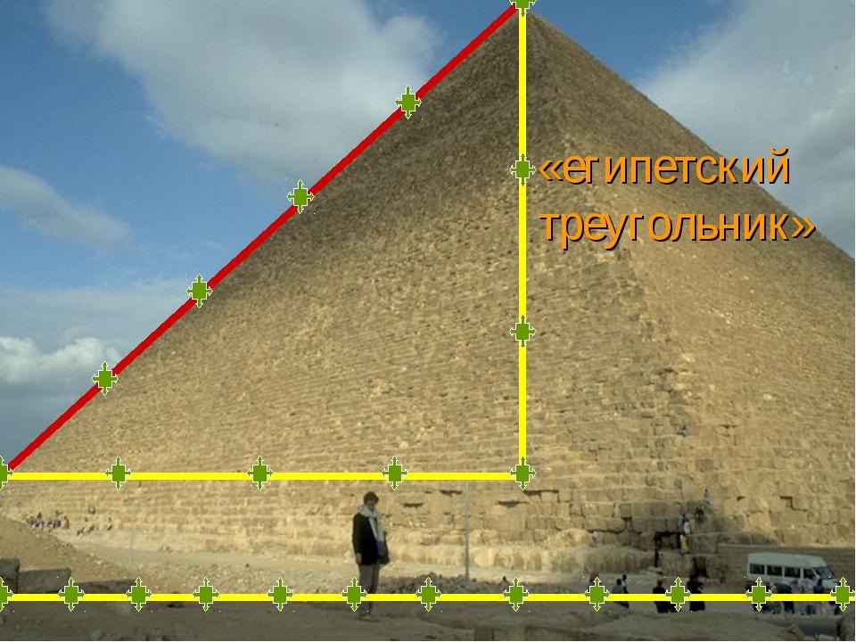 «египетский треугольник»