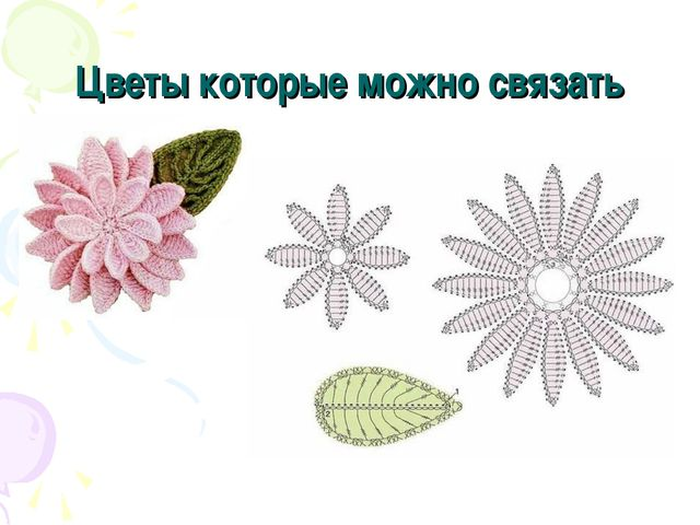 Цветы которые можно связать