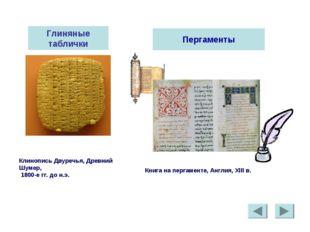 Глиняные таблички Клинопись Двуречья, Древний Шумер, 1800-е гг. до н.э. Перга