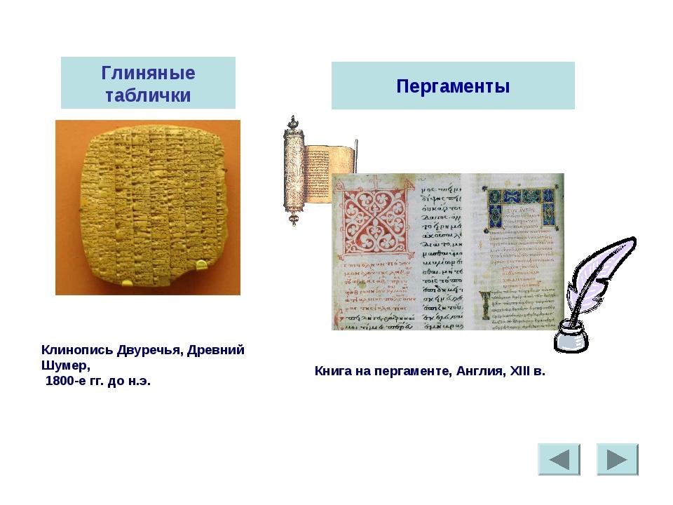 Глиняные таблички Клинопись Двуречья, Древний Шумер, 1800-е гг. до н.э. Перга...