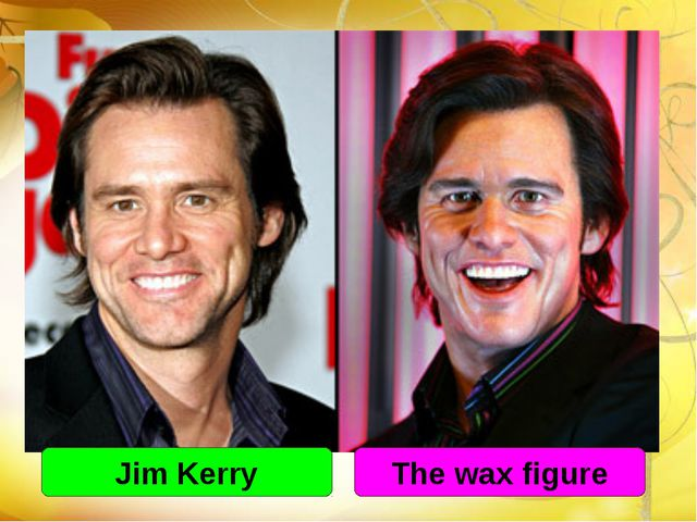 Jim Kerry The wax figure