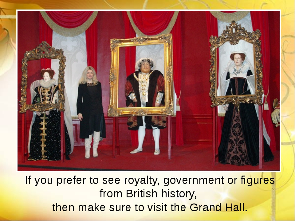 If you prefer to see royalty, government or figures from British history, the...