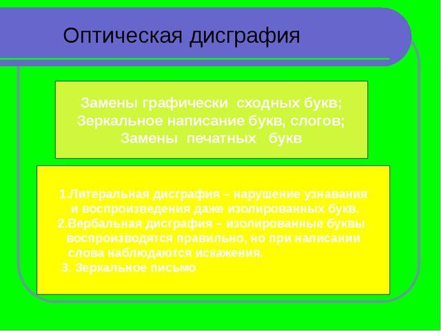 Виды упражнений Развитие зрительного восприятия и узнавания Формирование букв...