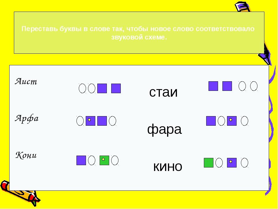 1 2 3 4 Выбери схему, которая соответствует звуковому составу слова
