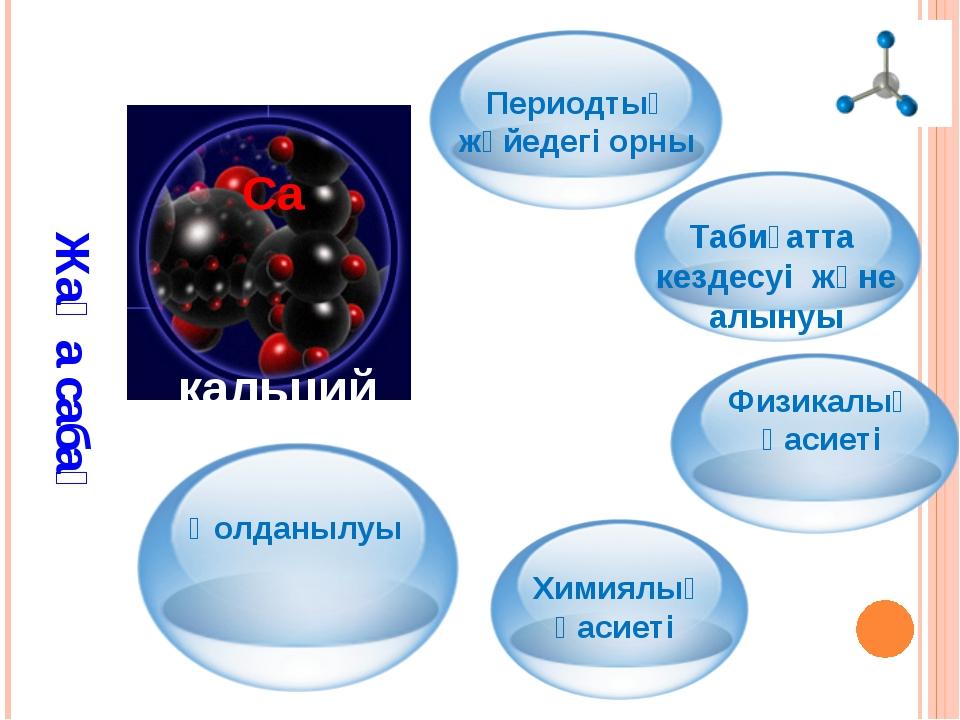 Периодтық жүйедегі орны 1.Химиялық таңбасы – Са 2.Реттік нөмірі – 20 3.Ar(Са...
