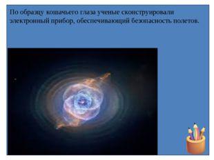 По образцу кошачьего глаза ученые сконструировали электронный прибор, обеспеч