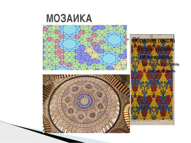 Многоугольные плиты мозаики Пенроуза