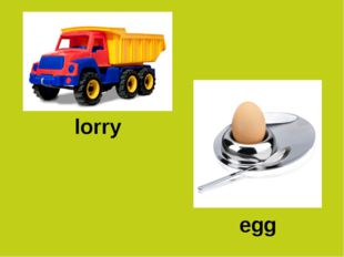lorry egg