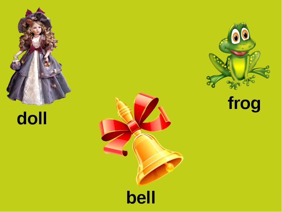 doll frog bell