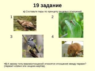 19 задание б) К какому типу взаимоотношений относятся отношения между парами?