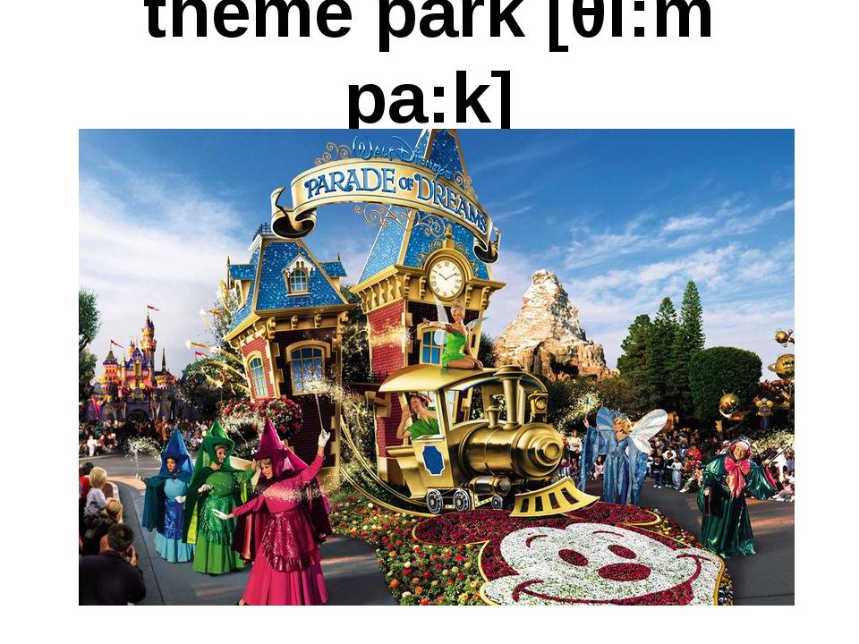 theme park [θi:m pa:k]
