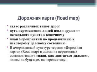 Дорожная карта (Road map) атлас различных типов дорог путь перемещения людей