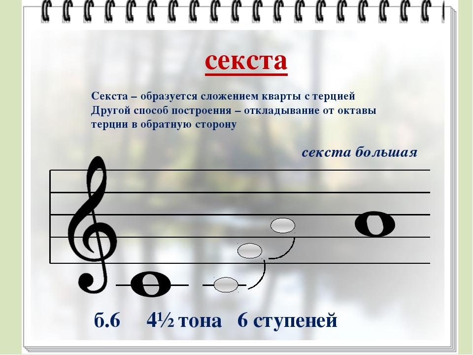 Музыкальный интервал картинки
