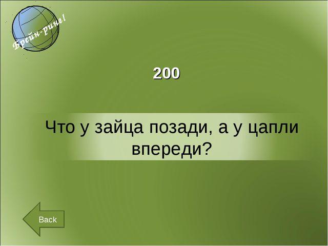 Back 200