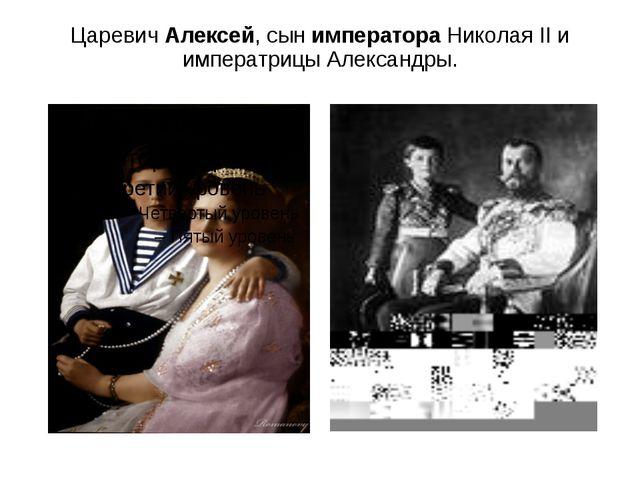 ЦаревичАлексей, сын императораНиколая II и императрицы Александры.