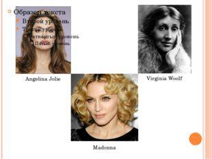 Angelina Jolie Madonna Virginia Woolf