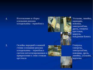 4. Изготовление и сборка основания рюкзака холодильника - термобокса Угольни