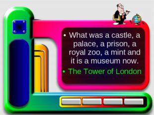 What was a castle, a palace, a prison, a royal zoo, a mint and it is a museum